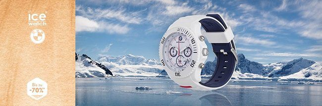Ice Watch Uhren Sale bei brands4friends   z.B. Ice Watch BMW Motorsport Large für 59,99€ (statt 158€)