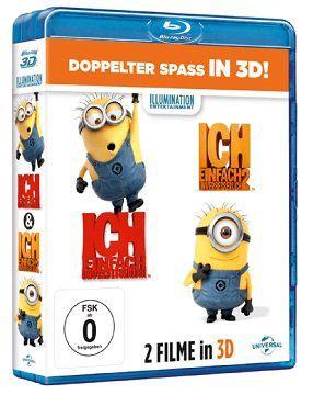Ich   Einfach unverbesserlich 1+2 als 3D Blu ray + Handyhülle für 19€ (statt 33€)