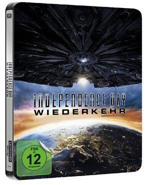 Independence Day: Wiederkehr als exklusive Steelbook UltraHD Blu ray für 19€ (statt 30€)