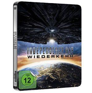 Independence Day: Wiederkehr als exklusive Steelbook UltraHD Blu ray für 18€ (statt 24€)