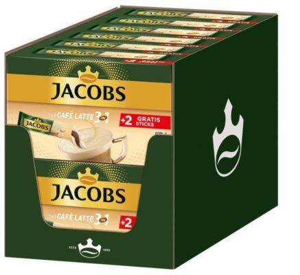 Jacobs 3in1 Café Latte   löslicher Kaffee 12x 12er Packs (144 Sticks) für 19,99€
