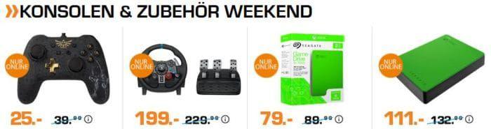 Saturn Weekend Sale: günstige TVs, Kopfhörer, Speicher und Konsolen & Zubehör