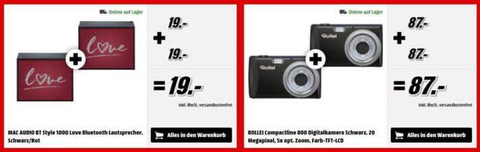 Knaller! Media Markt 2 für 1 Aktion mit Hammer Angeboten!