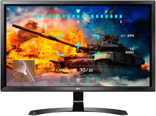 LG 27UD58B   27 Zoll 4K Monitor + AMAZON Fire TV Stick 4K für 269€ (statt 313€)