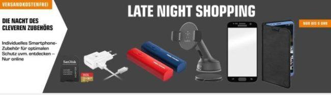 Saturn Late Night: günstige Smartphones, Notebooks und Zubehör