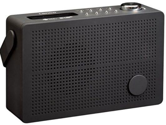 Lenco PDR 030   DAB + u. UKW Radio mit Akku für 29€ (statt 55€)