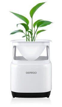 GEARGO Luftreiniger mit HEPA Filter und Blumentopf für 29,24€ (statt 45€)