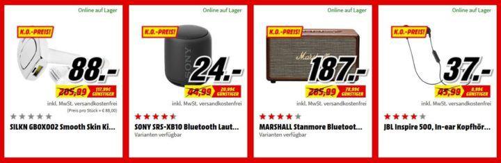 Media Markt FAN OUTLET Special: z.B. SONY SRS XB10 Bluetooth Lautspecher für 24€ (statt 34€)