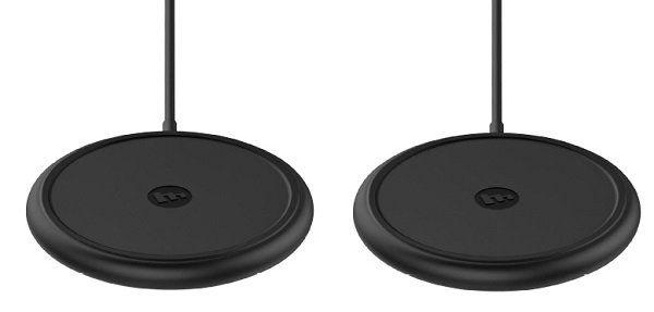 Mophie wireless Qi Ladestation im Doppelpack für 34€ (statt 66€)