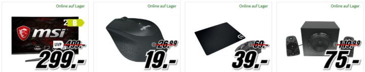 HYRICAN MILITARY 5554 Gaming PC mit i7 für  1.054€ uvm. im Media Markt Dienstag Sale