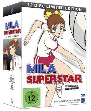 Mila Superstar   Die komplette Serie auf 12 DVDs für 45€ (statt 70€)