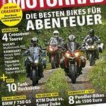 7 Ausgaben MOTORRAD für 31,85€ + 31,85€ Verrechnungsscheck