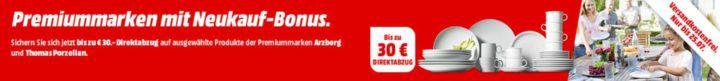 Media Markt Thomas & ARZBERG  Porzellan Sale: ARZBERG Cucina Kaffeegeschirr Set für 63,99€ (statt85€)