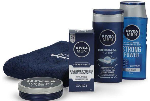 Nivea Verwöhnpflege mit Handtuch für 9,99€ (statt 18€)
