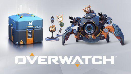 2 Overwatch Wrecking Ball Lootboxen gratis   nur für (Twitch) Prime Mitglieder
