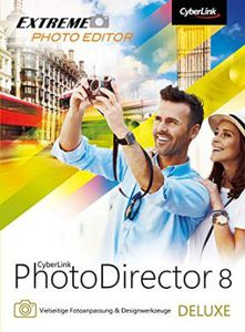 Cyberlink PhotoDirector 8 Deluxe (Windows/Mac) kostenlos