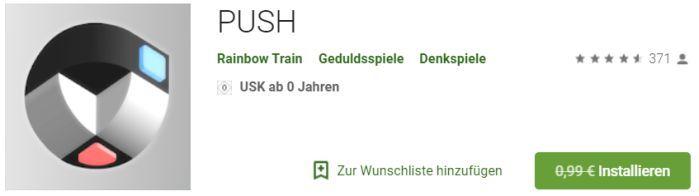 Push (Android) gratis statt 0,99€