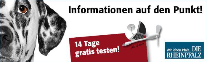 Die Rheinpfalz Zeitung 14 Tage testen + USB Ventilator dazu   endet automatisch