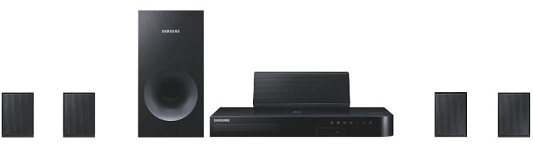 Samsung HT J4500   5.1 Heimkinosystem mit Blu Ray Player für 149€ (statt 169€)