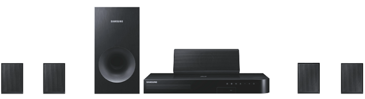 Samsung HT J4500   5.1 Heimkinosystem mit Blu Ray Player ab 159€ (statt 223€)