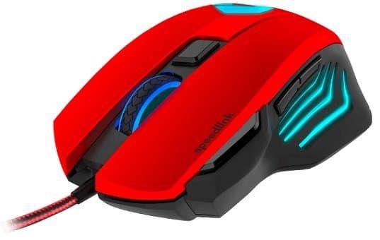 SPEEDLINK Decus Respec Gaming Mouse in Schwarz/Rot für 15€ (statt 35€)