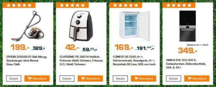 Saturn Startelf Sale: z.B. DYSON Ball Allergy Staubsauger für 199€ (statt 235€)