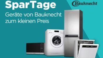 Bauknecht Spartage mit guten Rabatten bei AO   z.B. Bauknecht WATK Prime 8612 Waschtrockner für 449€ (statt 514€)