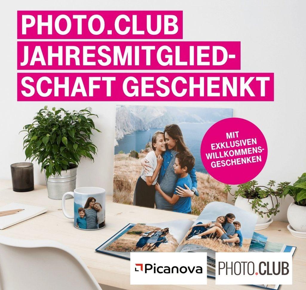 Nur für Telekom Photo.Club Jahresmitgliedschaft (Wert 49€) geschenkt
