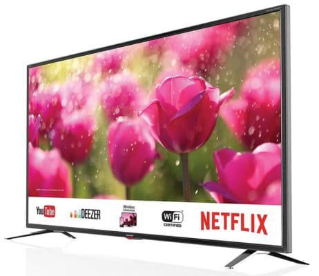 Sharp LC 65CUG8062E   65 Zoll ultraHD smart TV für 799€ (statt 938€)