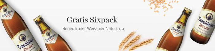 Sixpack Weizen, Hummus und mehr gratis zur Amazon Fresh Lieferung   nur solange der Vorrat reicht