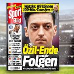 Sport Bild 6 Ausgaben gratis statt 14,40€ + 3,95€ VSK + automatisch auslaufend