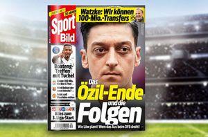 Sport Bild 6 Ausgaben gratis statt 14,40€ + 4,95€ VSK + automatisch auslaufend