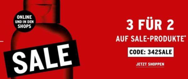 The Body Shop: kleiner Sale mit 3 für 2 Aktion bis Mitternacht