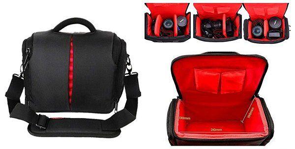 Beaspire Professionelle Kameratasche mit Regenschutz für 6,99€ (statt 9,99€)
