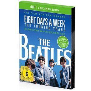 The Beatles   Eight Days a Week   The Touring Years als Digipak DVD für 5€ (statt 9€)