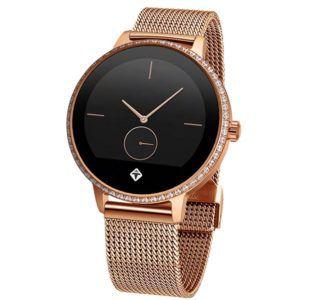 TIGER Paris Smartwatch Edelstahl S XXL Rose Gold für 99€ (statt 169€)