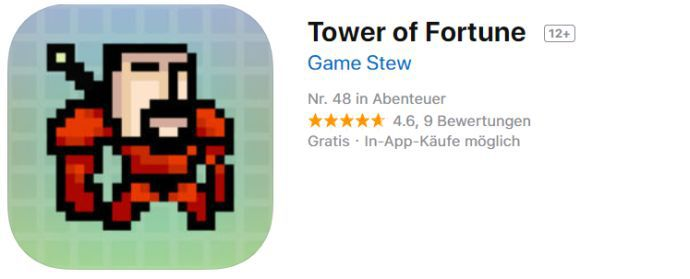 Tower of Fortune (iOS) gratis statt 1,09€
