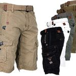Geographical Norway Herren Cargo Shorts für je 33,90€ (statt 40€)