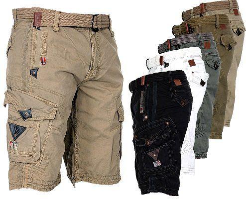 Geographical Norway Herren Cargo Shorts für je 33,90€ (statt 40€)