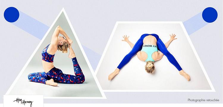 Hey Honey Sport  und Yoga Bekleidung bei Vente Privee