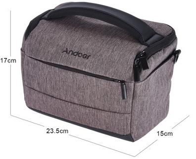 Andoer Aufbewahrungstasche für Kameras für 10,93€
