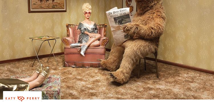 Katy Perry Sale bei Vente Privee   z.B. Pantoletten ab 25,90€