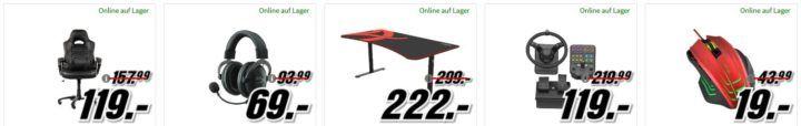 Media Markt Gaming Tiefpreisspätschicht: z.B. ASUS Radeon RX 570 Grafikkarte 4GB für 199€ (statt 229€)