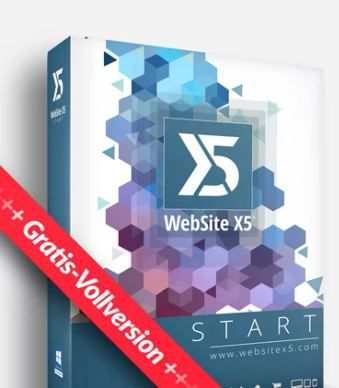 WebSite X5 Start 16 (Vollversion, Windows) gratis