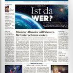 3 Monate Welt am Sonntag 🗞️ für 59,80€ + Prämie: 60€ Bestchoice-Gutschein