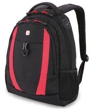 Wenger Freizeit Rucksack mit Tablet Fach in schwarz und rot für 29,95€ (statt 49€)