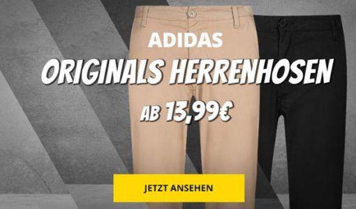 SportSpar: Adidas Herren Hosen ab 13,99€