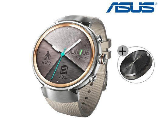 ASUS Zenwatch 3 Smartwatch + Powerpack für 155,90€ (statt 174€)