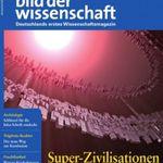 Bild der Wissenschaft Jahresabo für 121,52€ + 120€ BC Gutschein