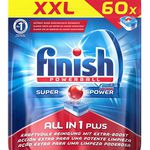 240er Pack Finish All-in-1 Plus Spülmaschinentabs für 29,99€